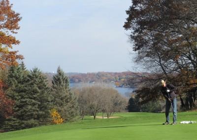 Naga-Waukee Golf Course Hole 13 Putting