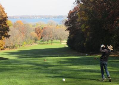 Naga-Waukee Golf Course Hole 14 Tee Love