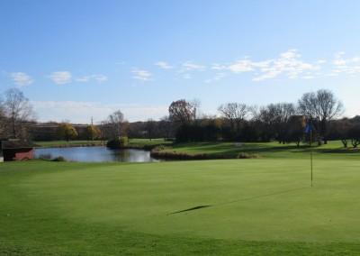 Naga-Waukee Golf Course Hole 3 Green