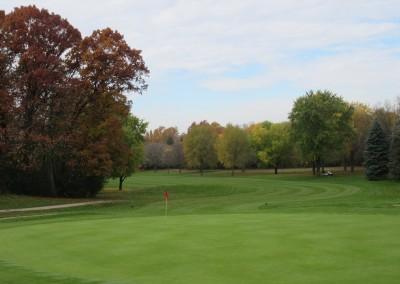 Naga-Waukee Golf Course Hole 7 Green