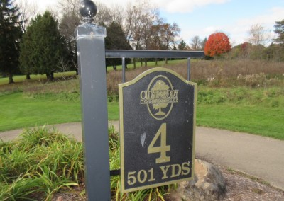 Old Hickory Golf Club Hole 4 Sign