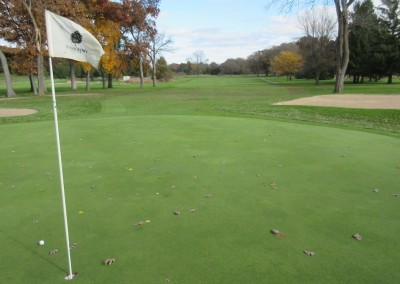 Old Hickory Golf Club Hole 6 Green