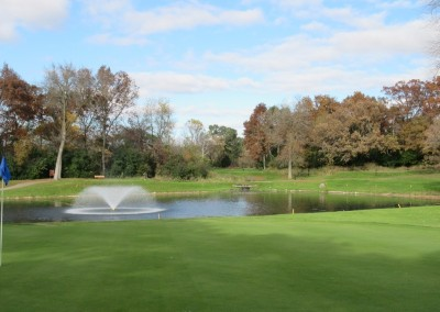 Old Hickory Golf Club Hole 7 Green