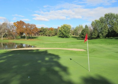 Old Hickory Golf Club Hole 8 Green Close