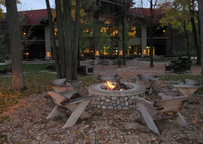 SentryWorld Clubhouse Firepit