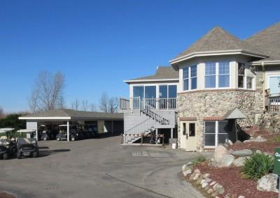 Fire Ridge Golf Club Staging Area