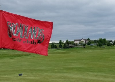 Broadlands Golf Club Hole 10 Flag