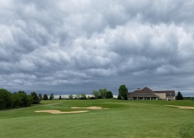 Broadlands Golf Club Hole 9 Clouds 2
