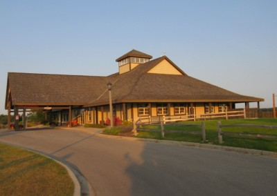 Morningstar Golfers Club Clubhouse Dusk