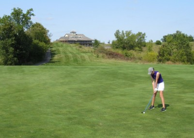 Morningstar Golfers Club Hole 1 Backward View