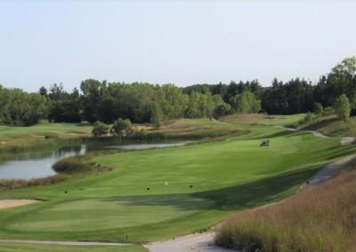Morningstar Golfers Club Hole 9 Backwards
