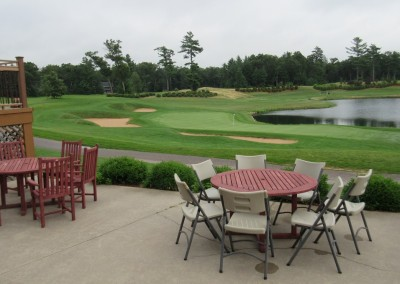 Northern Bay Castle Course Clubhouse Patio