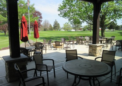 Reedsburg Country Club Clubhouse Patio