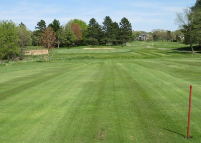Reedsburg Country Club Hole 11 Approach