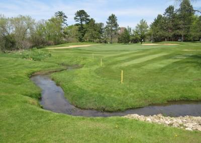 Reedsburg Country Club Hole 11 Hazard