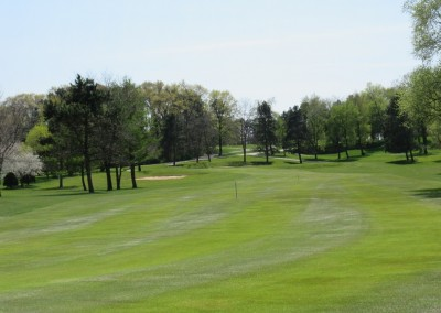 Reedsburg Country Club Hole 16 Approach