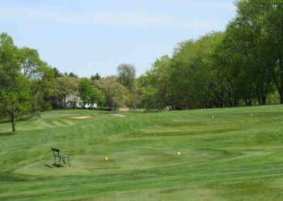 Reedsburg Country Club Hole 17 Tee