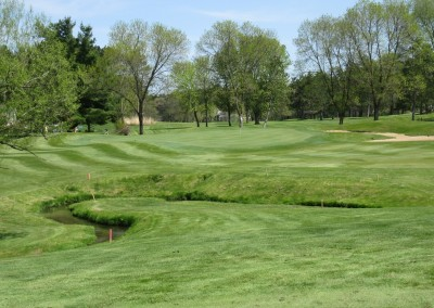 Reedsburg Country Club Hole 2 Approach