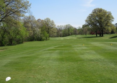 Reedsburg Country Club Hole 2 Tee