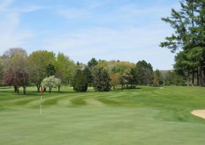 Reedsburg Country Club Hole 8 Green