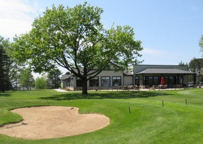 Reedsburg Country Club Hole 9 Bunker