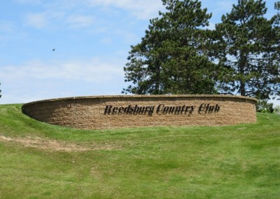Reedsburg Country Club Sign