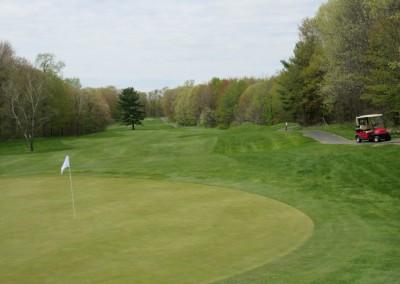 Christmas Mountain Oaks Course Hole 13 Green