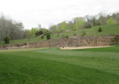 Devil's Head Resort Glacier Course Hole 4 Green