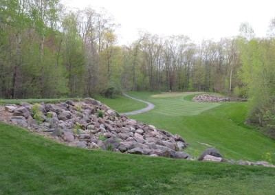 Devil's Head Resort Glacier Course Hole 7 Back Tee