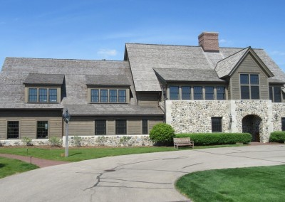 Erin Hills Golf Course Clubhouse Front