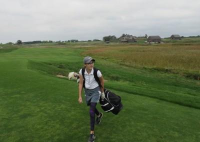 Erin Hills Golf Course Hole 1 Fairway Rachel