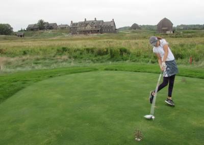 Erin Hills Golf Course Hole 1 Forward Tee Rachel