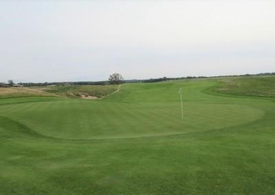 Erin Hills Golf Course Hole 10 Green View