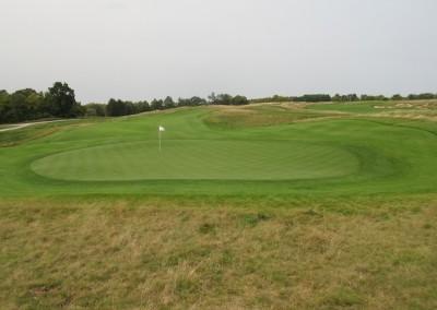 Erin Hills Golf Course Hole 11 Green View