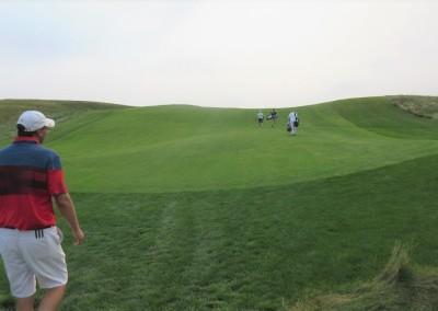 Erin Hills Golf Course Hole 12 Fairway Uphill