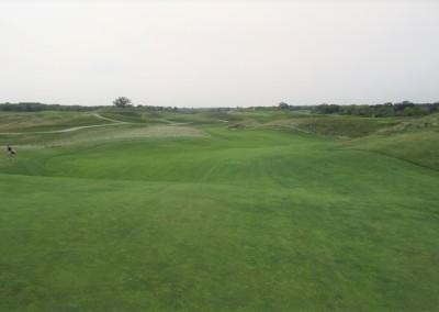 Erin Hills Golf Course Hole 12 Green Long Approach