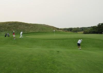 Erin Hills Golf Course Hole 14 Green Complex