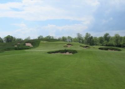 Erin Hills Golf Course Hole 15 Approach