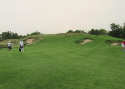 Erin Hills Golf Course Hole 15 Short Approach
