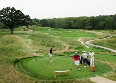 Erin Hills Golf Course Hole 15 Tee Shot