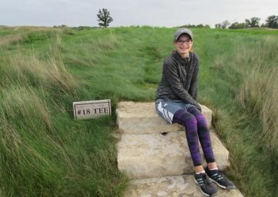 Erin Hills Golf Course Hole 18 Sign Rachel