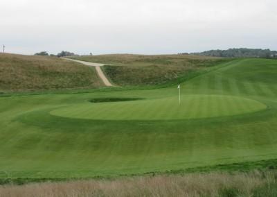 Erin Hills Golf Course Hole 2 Green View