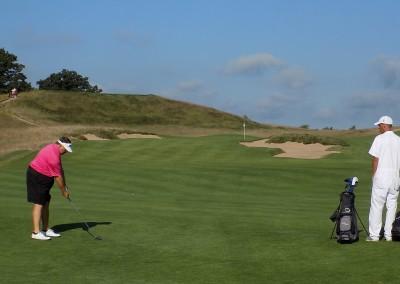 Erin Hills Golf Course Hole 3 Approach