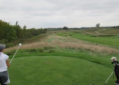 Erin Hills Golf Course Hole 4 Forward Tee