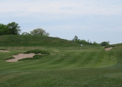 Erin Hills Golf Course Hole 4 Green View Is It