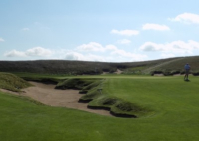 Erin Hills Golf Course Hole 5 Bunker