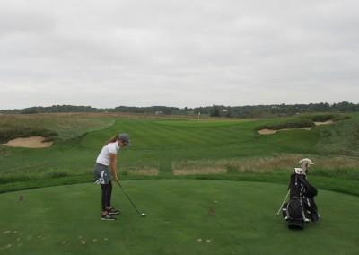 Erin Hills Golf Course Hole 6 Forward Tee