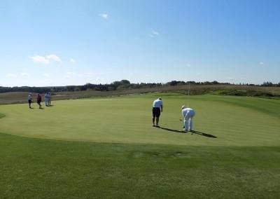 Erin Hills Golf Course Hole 6 Green