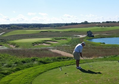 Erin Hills Golf Course Hole 9 Tee