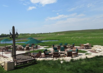 Erin Hills Golf Course Lodge Fire Pits